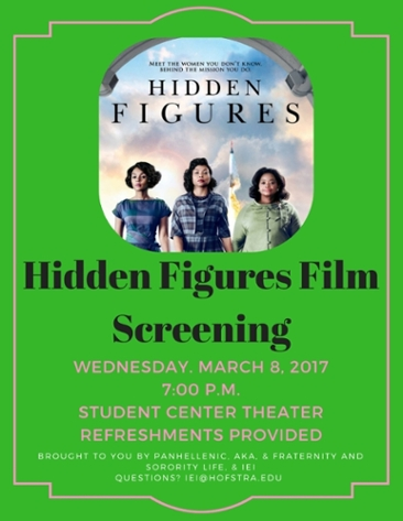 Hidden Figures Film Screning March 8 2017