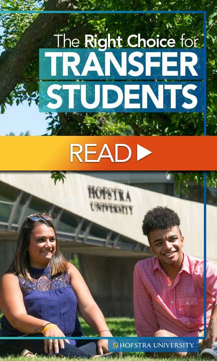 READ - The Right Choice for Transfer Students - Hofstra University