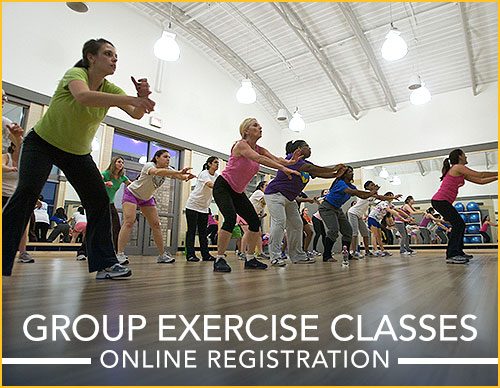 Group Exercise Classes - Online Registration