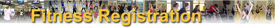 Fitness Center Group Classes Registration