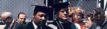 Dr. Martin Luther King, Jr. at Commencement