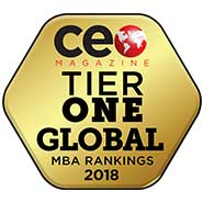 CEO Magazine: Tier One Global MBA Rankings 2018