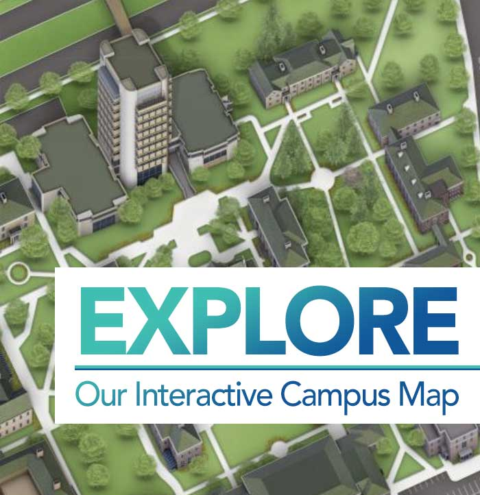 Explore Oure Interactive Campus Map