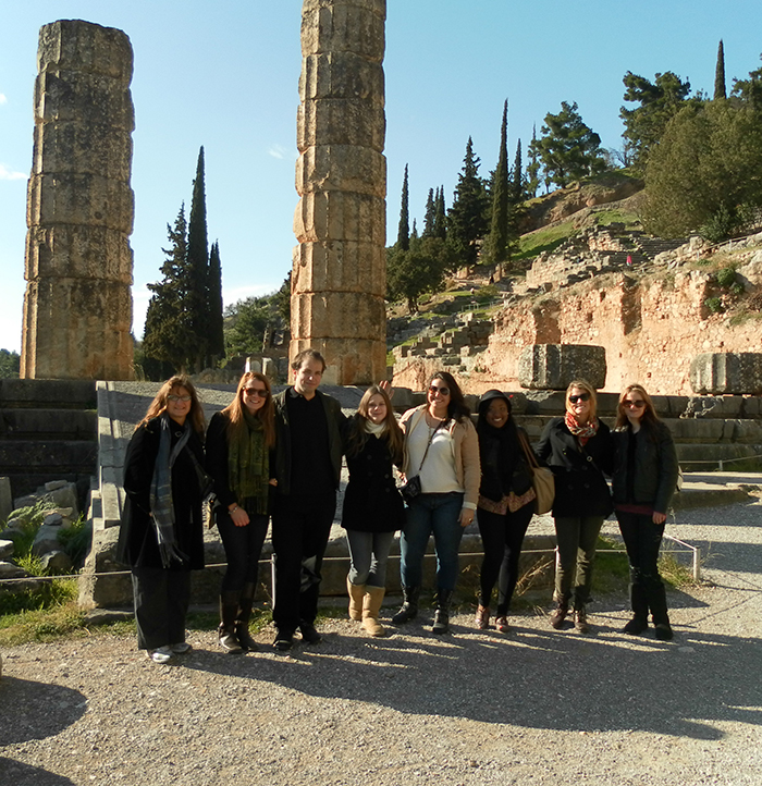 Study abroad program in Athens