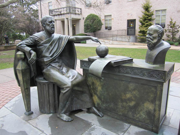 Plato Having a Dialogue with Socrates