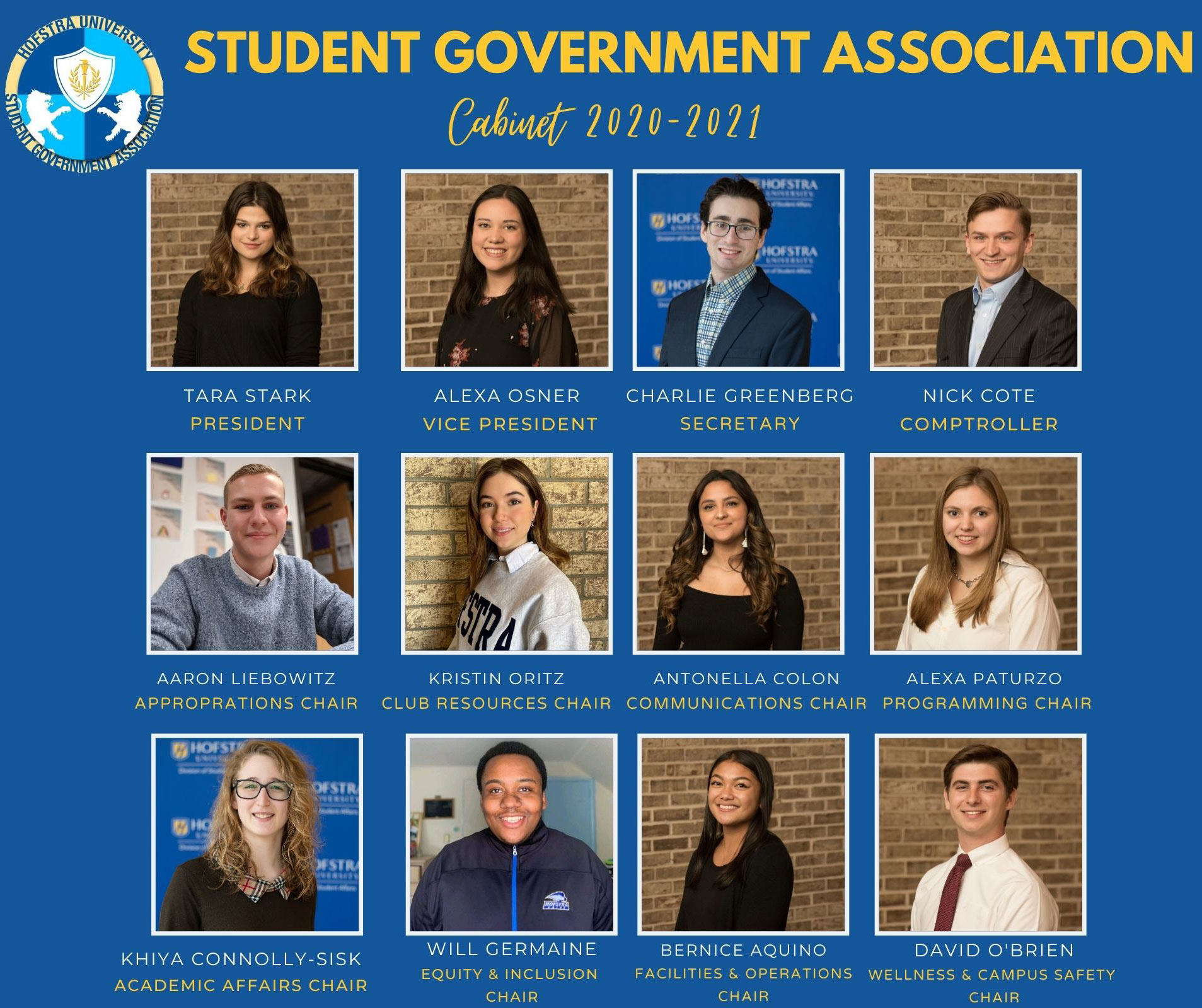Student Government Association Cabinet